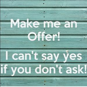 All reasonable offers accepted 👍🏽
